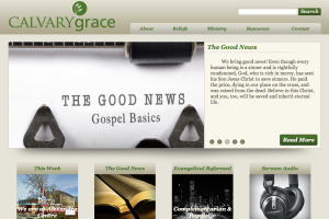 New Calvary Grace Church Website